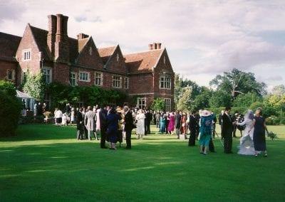 wedding shot lawn